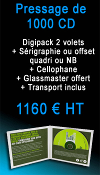 Promo 1000 CD Digipack